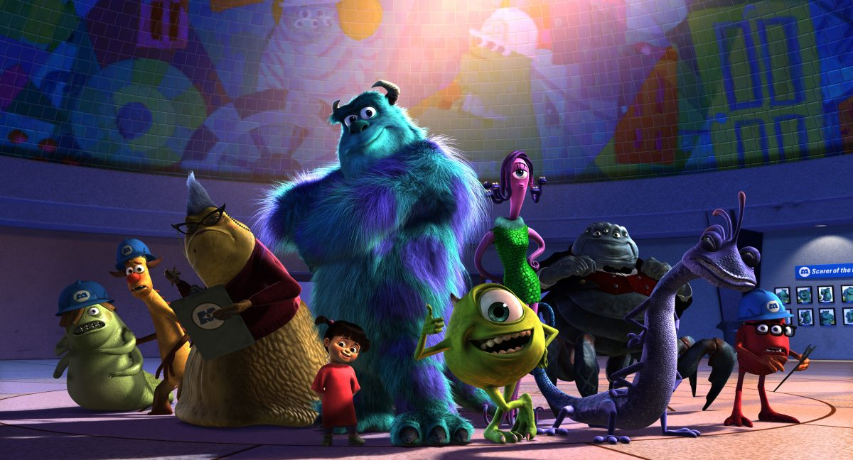 """a bunch of monsters in """"Monsters, Inc."""" Proof That Film Critics Don't Know What Kids Like"""