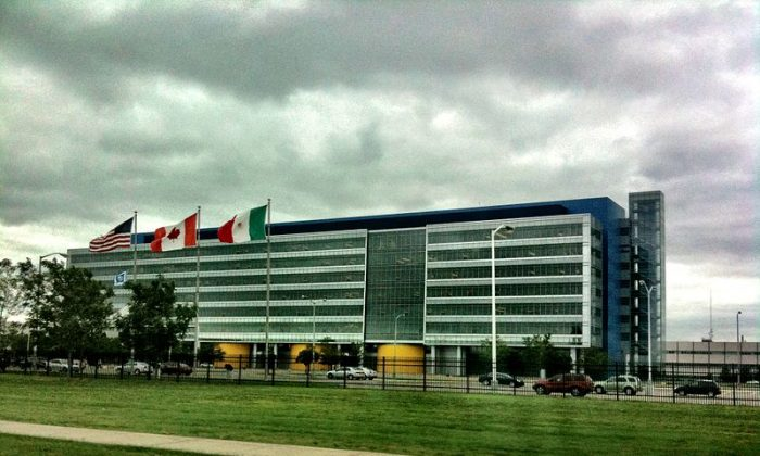 "The GM Technical Center in Warren (Wikipedia user ""Local hero"")"