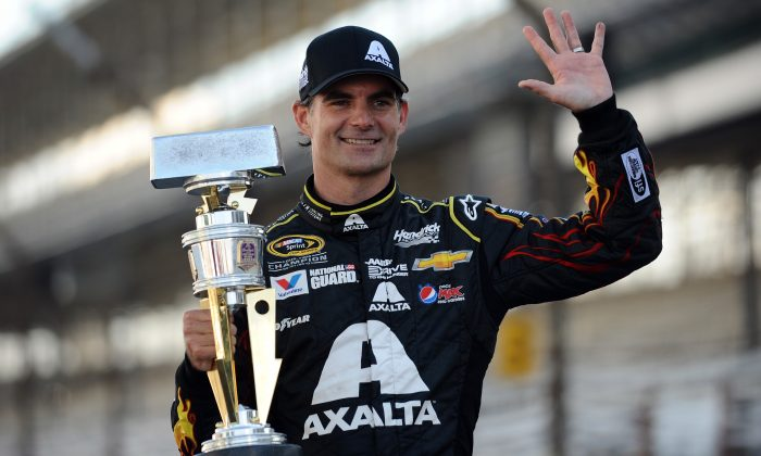 Four-time NASCAR champion Jeff Gordon retired at the end of 2015 and will now be a FOX analyst for the season. (Rainier Ehrhardt/Getty Images)