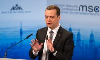 Russian PM: West Rekindling the Cold War
