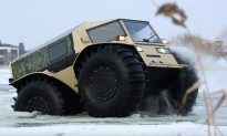 For Just $65,000, You Can Buy a Ridiculous Russian Truck That Can Drive Through Water