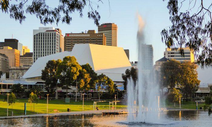 Adelaide Festival Centre. (Steve Xu/Epoch Times)