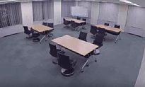 Video Shows Nissan's Somewhat Terrifying Self-Parking Office Chairs