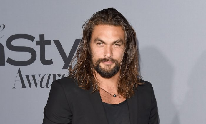 Actor Jason Momoa at the InStyle Awards at Getty Center, on Oct. 26, 2015, in Los Angeles. (Jason Merritt/Getty Images/InStyle)