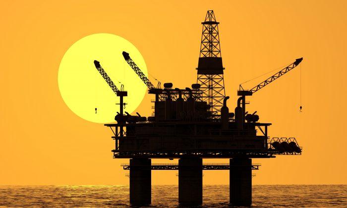 An oil platform in a stock photo. (Tomasz Wyszołmirski/iStock)