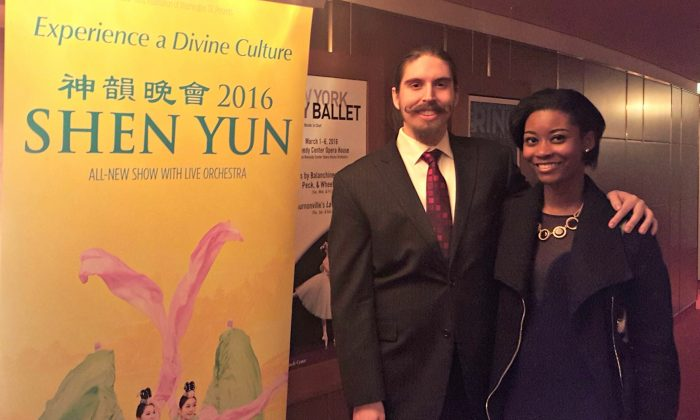 Aspiring Actor Says Shen Yun Is a Learning Experience
