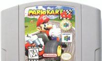 NASCAR Drivers Play 'Mario Kart 64'