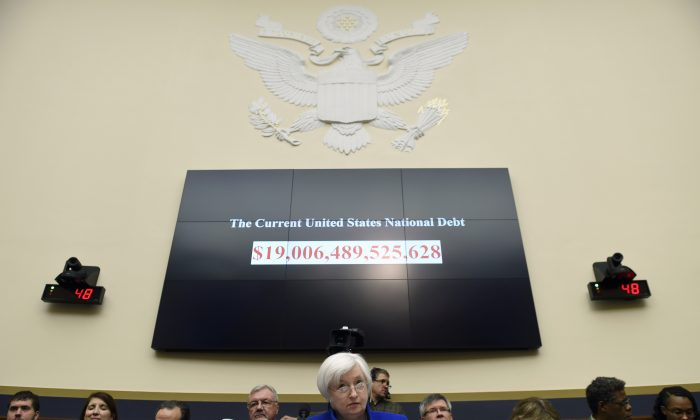 Federal Reserve Board Chair Janet Yellen testifies on Capitol Hill in Washington, D.C., on Feb. 10, 2016, before the House Financial Services Committee hearing on monetary policy and the state of the economy. (AP Photo/Susan Walsh)