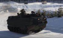 Watch US Marines Drift With Amphibious Assault Vehicles