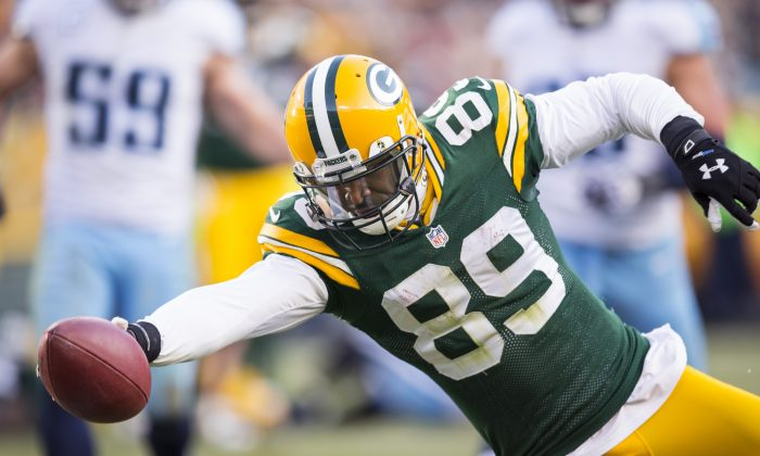 James Jones won a Super Bowl with the Green Bay Packers in 2010. (Tom Lynn /Getty Images)