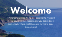 Cheeky Cape Breton Website Offering Escape From Trump Sparks Surprising Reaction