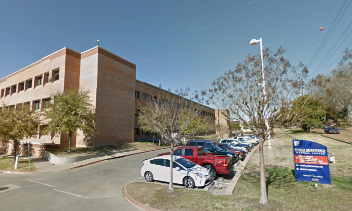 Good Shepherd Medical Center on 700 E. Marshall Ave, Longview, Texas. (Screenshot of Google Street View)