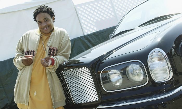 Actor Orlando Brown poses at Shaquille O'Neal's childrens benefit 'Shaqtacular VIII' held at the Santa Monica Airport on September 20, 2003 in Santa Monica, California. (Photo by Kevin Winter/Getty Images)