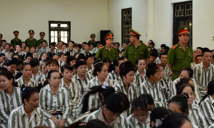 Prisoners in Vietnam in a file photo (HOANG DINH NAM/AFP/Getty Images)