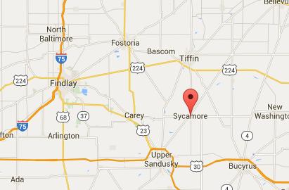 Sycamore, Ohio. (Screenshot of Google Maps)