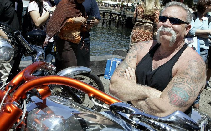 "Paul Teutul Sr. from the popular reality television show ""American Chopper"" during a visit to Sydney, Australia, on Feb. 15, 2007. Teutel announced on Monday that he is endorsing Donald Trump for president. (AP Photo/Rob Griffith)"
