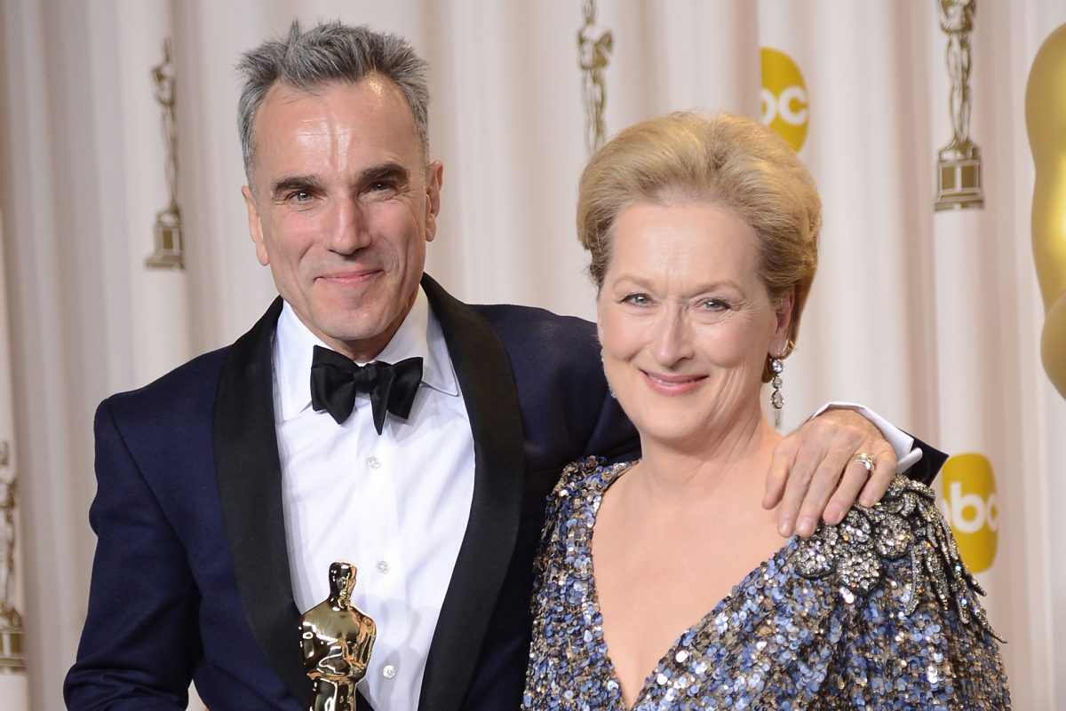 actor and actress with Oscar