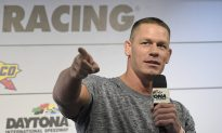 Watch: NASCAR Reporter Whips WWE Wrestler John Cena in the Face With Her Ponytail at Daytona 500
