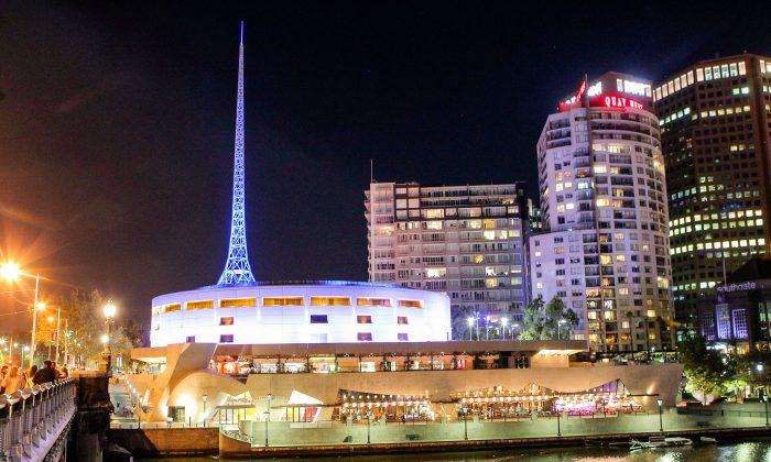 Arts Centre Melbourne, State Theatre. (Ming Chen/Epoch Times)