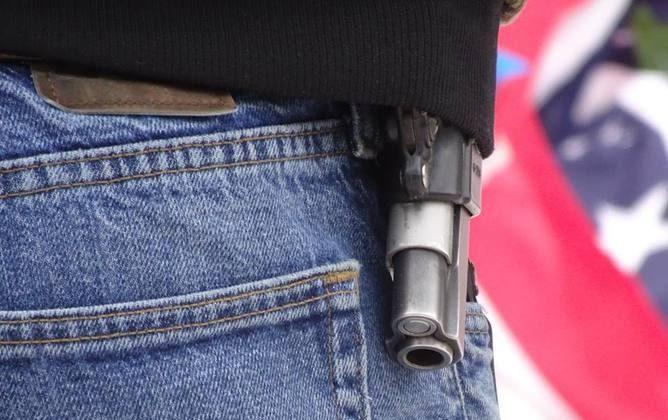 A gun in a file photo. (Peter Walker)