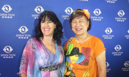 'I felt the presence of a spiritual being' at Shen Yun