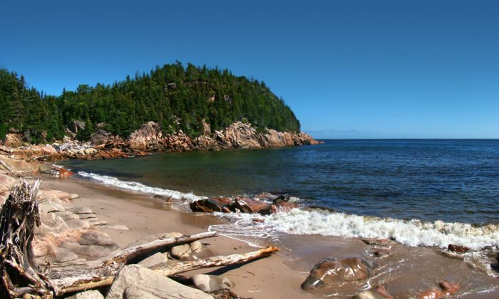 Cape Breton Highlands National Park on Cape Breton Island. (Tango7174/Public Domain)