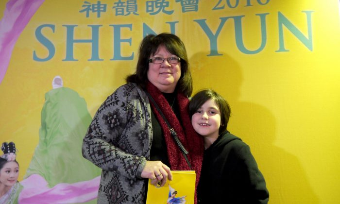 A long-awaited dream comes true for Kennedy, as she sees Shen Yun on Feb. 24 to celebrate her December birthday, accompanied by her grandmother, Nancy Henske. (Catherine Wen/Epoch Times)