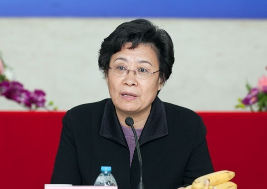 """Li Qiufang, the new discipline inspection team leader, has the title of """"CCDI team leader and committee member stationed at Hong Kong and Macau Affairs Office of the State Council (Web photo)"""