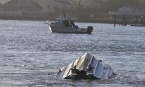 New York: Coast Guard Vessel Flips Over While Responding to Grounded Fishing Boat