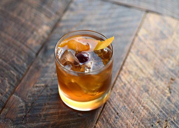 Barrel-Aged Old Fashioned. (Michael Tulipan)