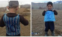 Watch: Signed Lionel Messi Jersey Makes Afghan Child's Dreams Come True
