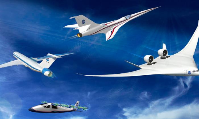 NASA's experimental X-Planes. (NASA)
