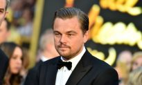 Video: Leonardo DiCaprio Gets Called out by Hockey Announcers