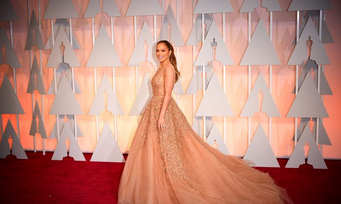 Jennifer Lopez at the 87th Annual Academy Awards on Feb. 22, 2015. (Jason Merritt/Getty Images)