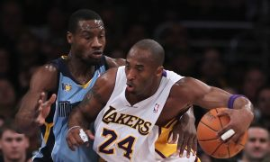 Tony Allen: Kobe Bryant Gifts Grizzlies Guard Shoes With Note Reading 'Best Defender I Ever Faced'