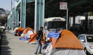 Deadline Expires for Homeless at San Francisco Tent City