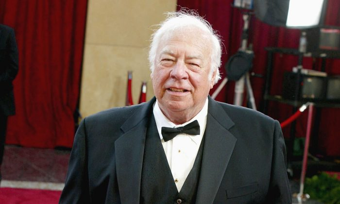Actor George Kennedy attends the 75th Annual Academy Awards at the Kodak Theater on March 23, 2003 in Hollywood, California. (Kevin Winter/Getty Images)