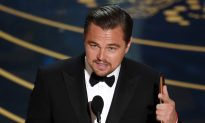Video: Leonardo DiCaprio Warns of Climate Change in Oscar Acceptance Speech