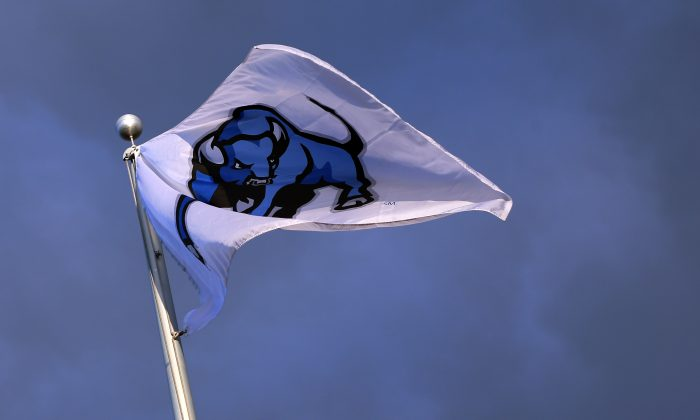 The Buffalo Bulls went 5–7 in 2015, with defensive end Solomon Jackson starting six of the team's games. (Vaughn Ridley/Getty Images)