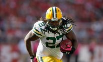 Eddie Lacy: Packers Running Back Reportedly Appears Slimmer in Photo With P90X Trainer