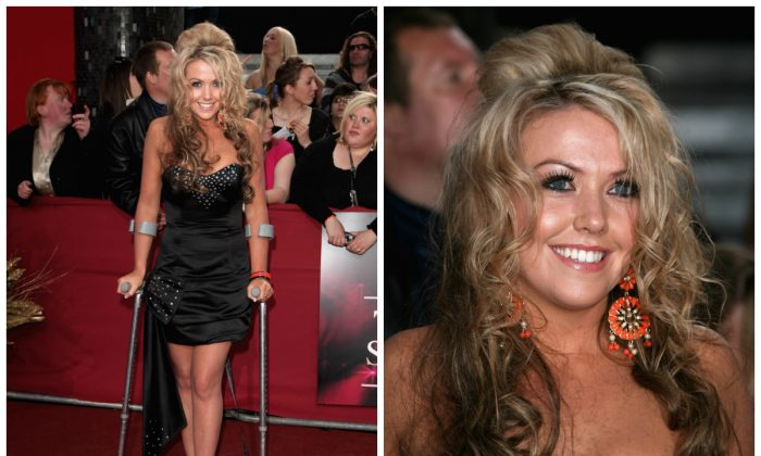 Kelly-Marie Stewart arrives for the British Soap Awards at BBC Television Centre on May 9, 2009 in London, England. (Photo by Tim Whitby/Getty Images)