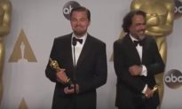 After His Oscar Win, Leonardo DiCaprio Tries to Keep Straight Face During Odd Question