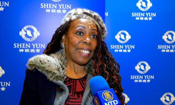 Singer Enchanted by Shen Yun
