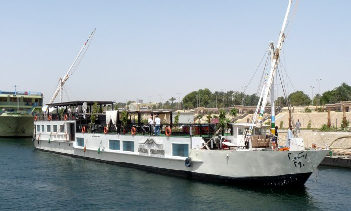 A Dahabiya cruise is one way to travel the Nile and see the sights. There are also dozens of luxury Nile cruisers to choose from. (Barbara Angelakis)