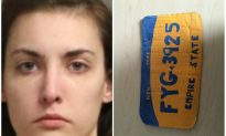 Woman Faces Felony for Driving With Fake License Plate Made From Cardboard in New York