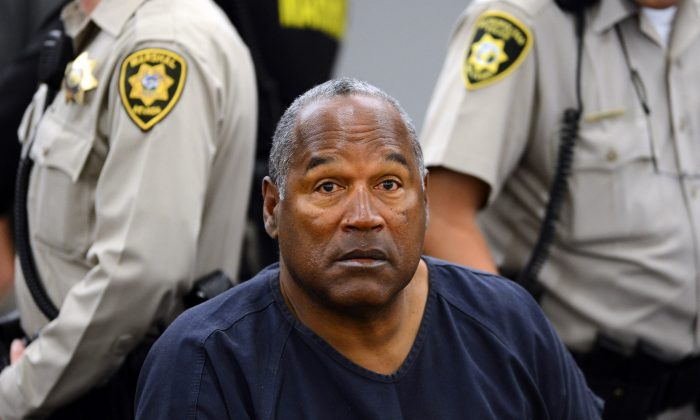 O.J. Simpson at the second day in a file photo (AP Photo/Ethan Miller)