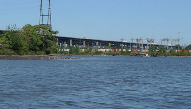 A file photo of the Passaic River. (NOAA)
