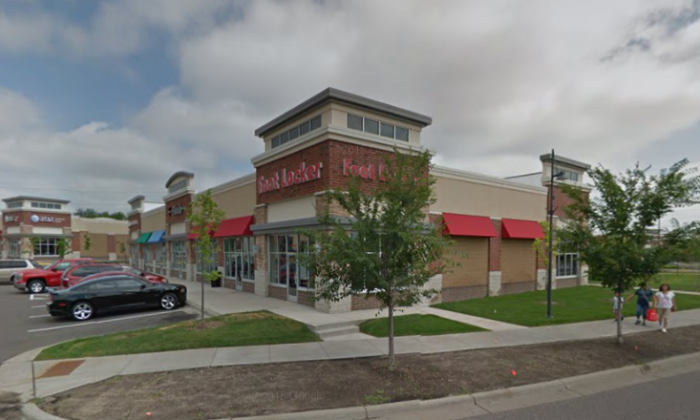 A file photo of the Foot Locker in Brooklyn Center, MN. (Google Maps)