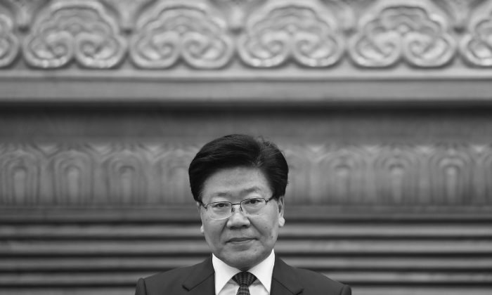 """During China's annual Two Sessions, when an overseas reporter asked """"Do you support Xi Jinping's leadership?"""" Xinjiang Party secretary Zhang Chunxian replied, """"Talk later."""" The response attracted wide attention and further interpretation. (Getty Images)"""