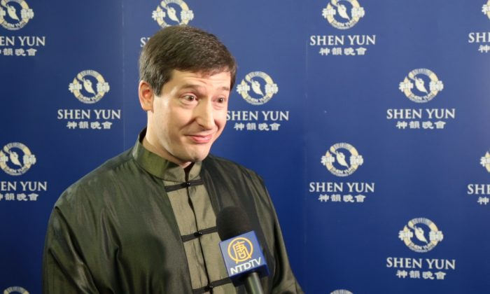 Andrew Cliff was impressed with the authenticity of Chinese culture presented by Shen Yun at the ICC Birmingham March 5, 2016.